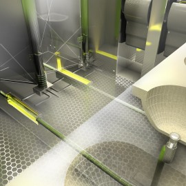 Brunskill Design Architects winner of Building Design/ Dyson Airblade Competition
