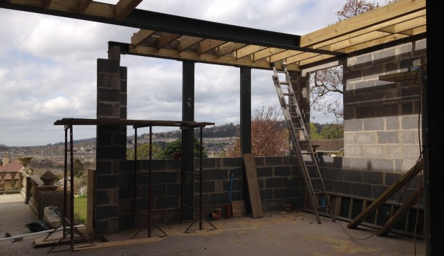 Extension in Conservation City of Bath Taking Shape