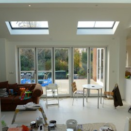 House refurbishment and Extension nearing Completion