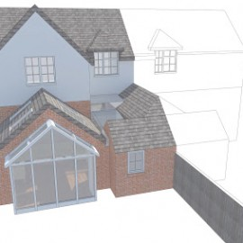 Planning Permissions recently granted for Extension and Remodelling Projects