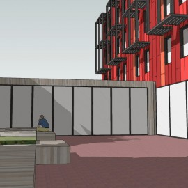 Our Hostel Building Design has been submitted for Detail Planning Approval