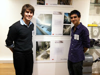Our Winning Washroom Design is currently on exhibition in the Business Design Centre, Islington